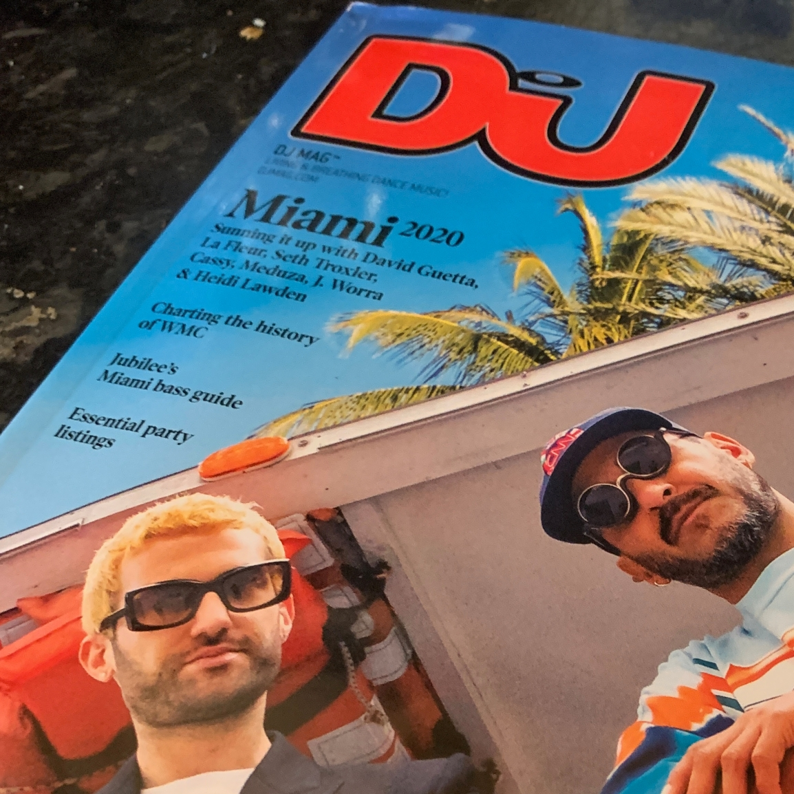DJ MAGAZINE REVIEW
