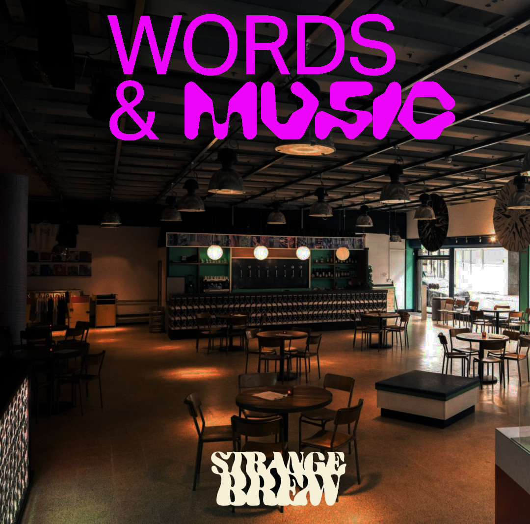 INTRODUCING WORDS & MUSIC, OUR NEW EVENTSERIES